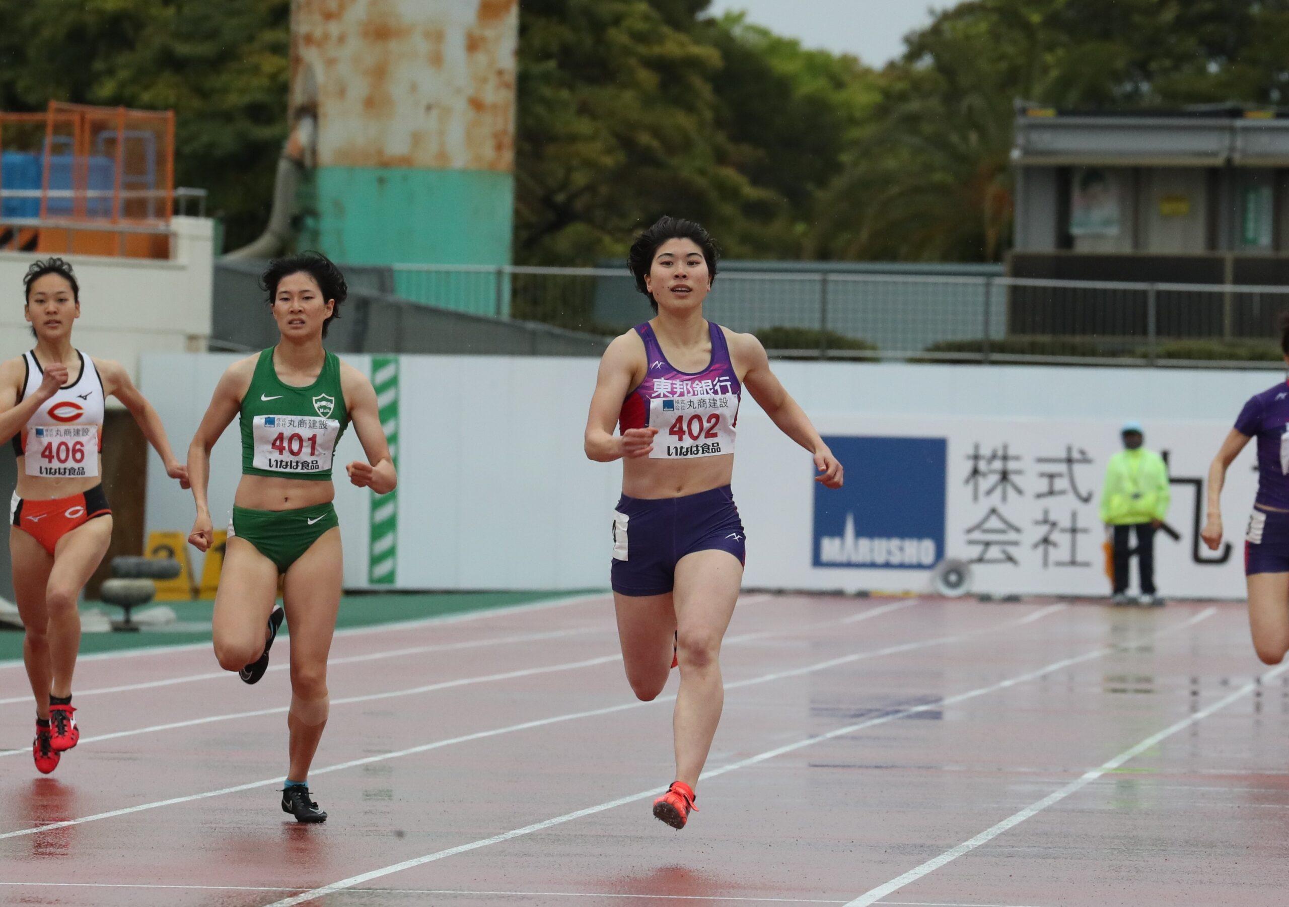 女子400mは松本奈菜子がトップ!青山聖佳は200m23秒台でマイルに弾み/世界リレートライアル