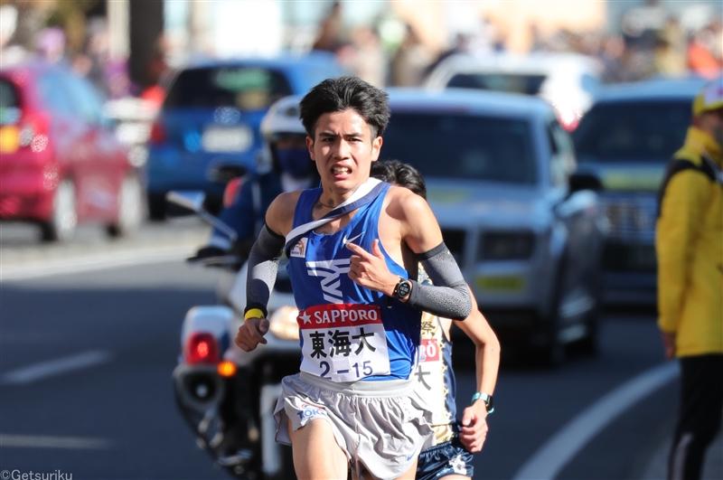 石原翔太郎が3000mでU20日本歴代3位の7分58秒26/東海大長距離競技会