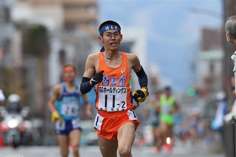 男子3000mで小山翔也が高1歴代3位の8分16秒17/平成国大長距離競技会