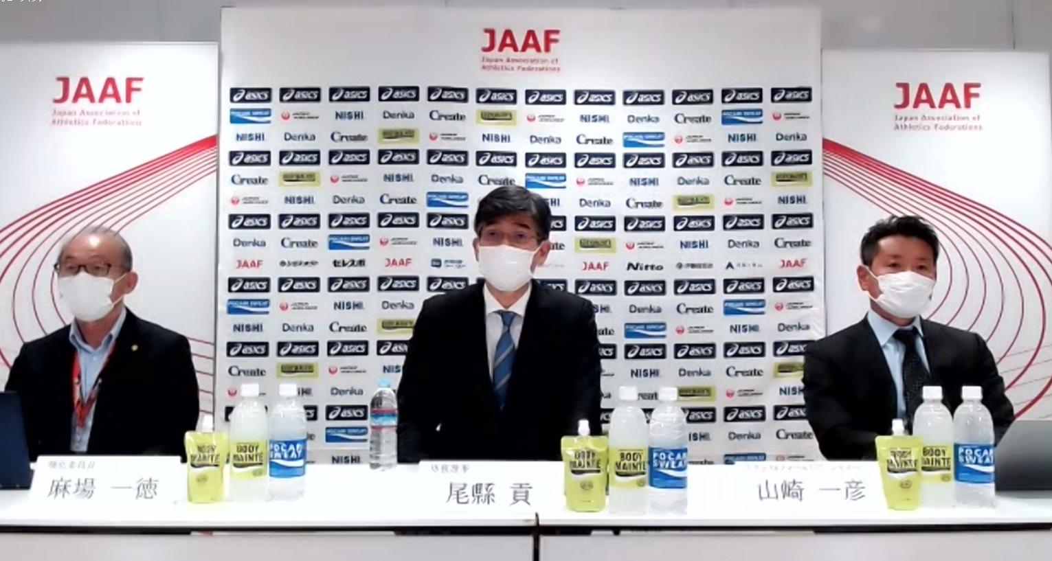 東京五輪へ日本陸連が強化方針発表 男子4継は五輪まで実戦予定なし