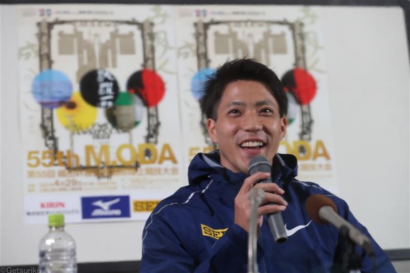 山縣亮太が地元・広島で復活の一歩へ「課題がクリアできればいい記録が出る」/織田記念前日会見