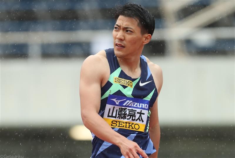 山縣が予選で雨の中10秒29!桐生は10秒36でそれぞれ組トップで決勝へ/織田記念