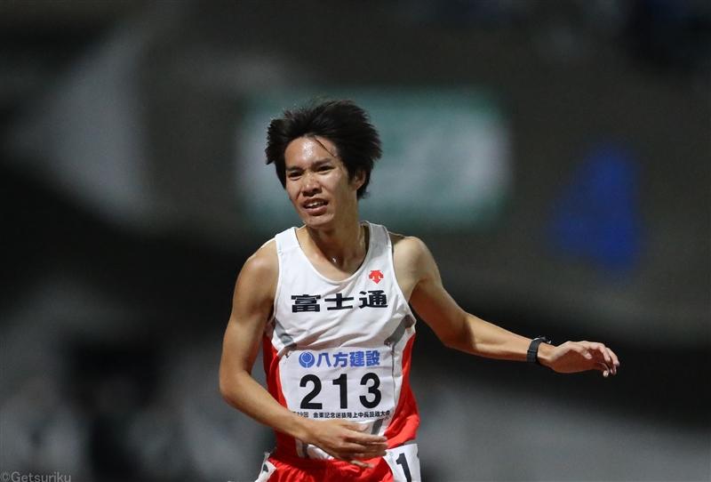 塩尻和也が完全復活!5000m13分22秒80の自己新「3000m障害で五輪目指す」/金栗記念