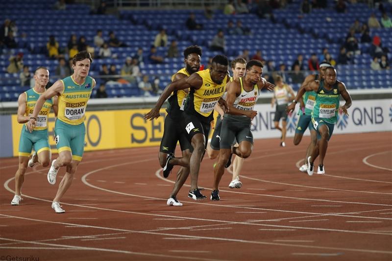 ジャマイカが世界リレー選手権をキャンセル 渡航制限で出場「困難」