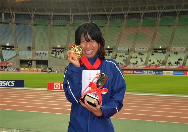 東京五輪代表・新谷仁美がアース製薬とパートナー契約 疲労回復で「最高のパフォーマンスを見せたい」