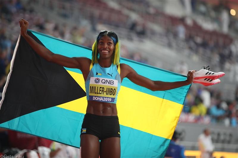 女子400mでミラー・ウイボが今季世界最高の49秒08/WAコンチネンタルツアー・ゴールド開幕戦