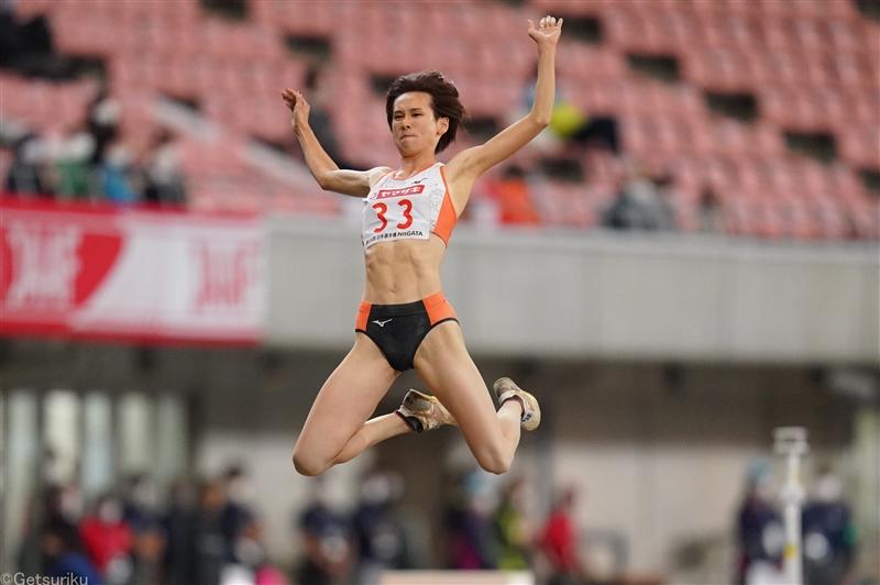 女子走幅跳で秦澄美鈴が日本歴代4位タイの6m65、自己記録を20cm更新/兵庫リレーカーニバル