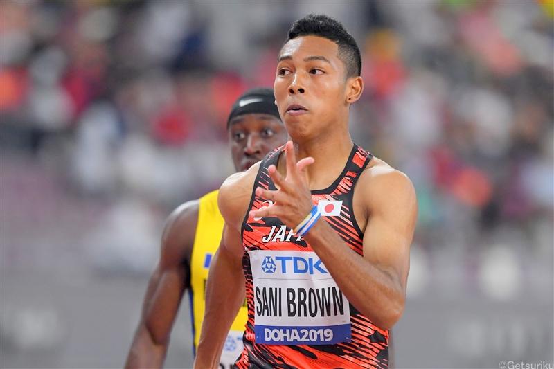 サニブラウンは棄権 ブロメルが9秒92でV 男子110mHでマクレオドが13秒11/Sound Running Track Meet