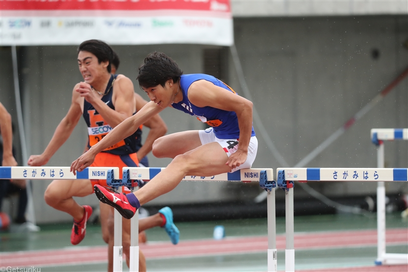 110mH泉谷駿介が決勝も圧倒!追い風参考日本最高の13秒05で2年ぶりV/関東IC
