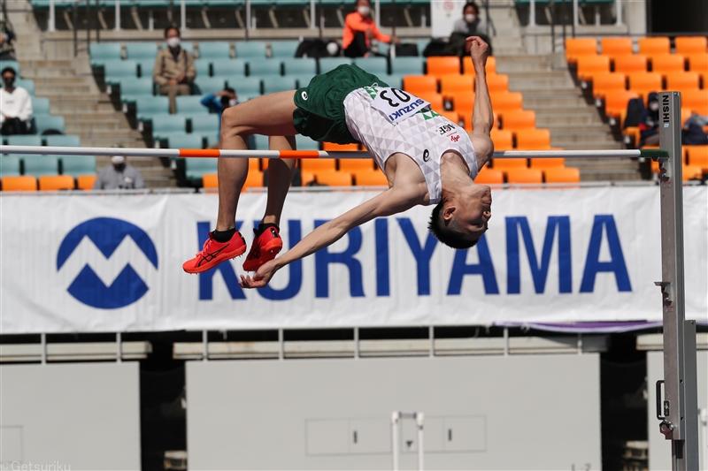 走高跳リオ五輪代表の衛藤昂2年ぶり自己タイ2m30!「最後のシーズンと思って取り組んできた」/静岡国際