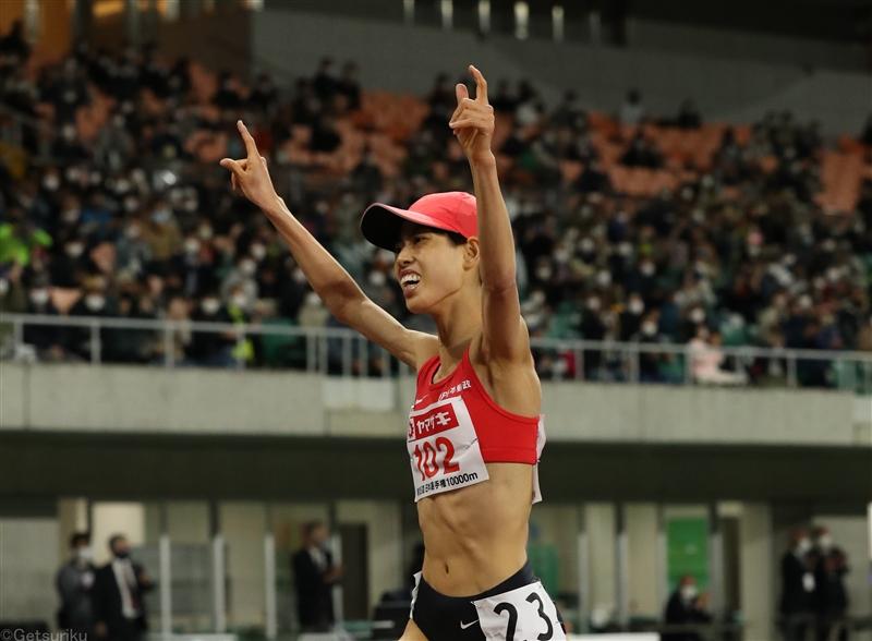 20歳の廣中璃梨佳2度目の10000mで東京五輪決める「自分らしい走りが最後までできた」/日本選手権