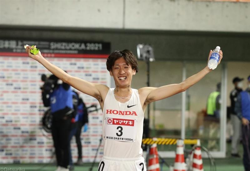 伊藤達彦10000mVで五輪決める 両大腿骨疲労骨折、肉離れから急仕上げ/日本選手権