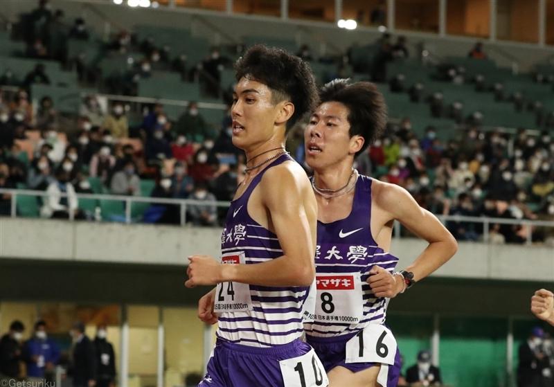 駒大の勢い加速!日本選手権1万m田澤廉が2位、鈴木芽吹が3位 学生歴代2、3位にランクイン