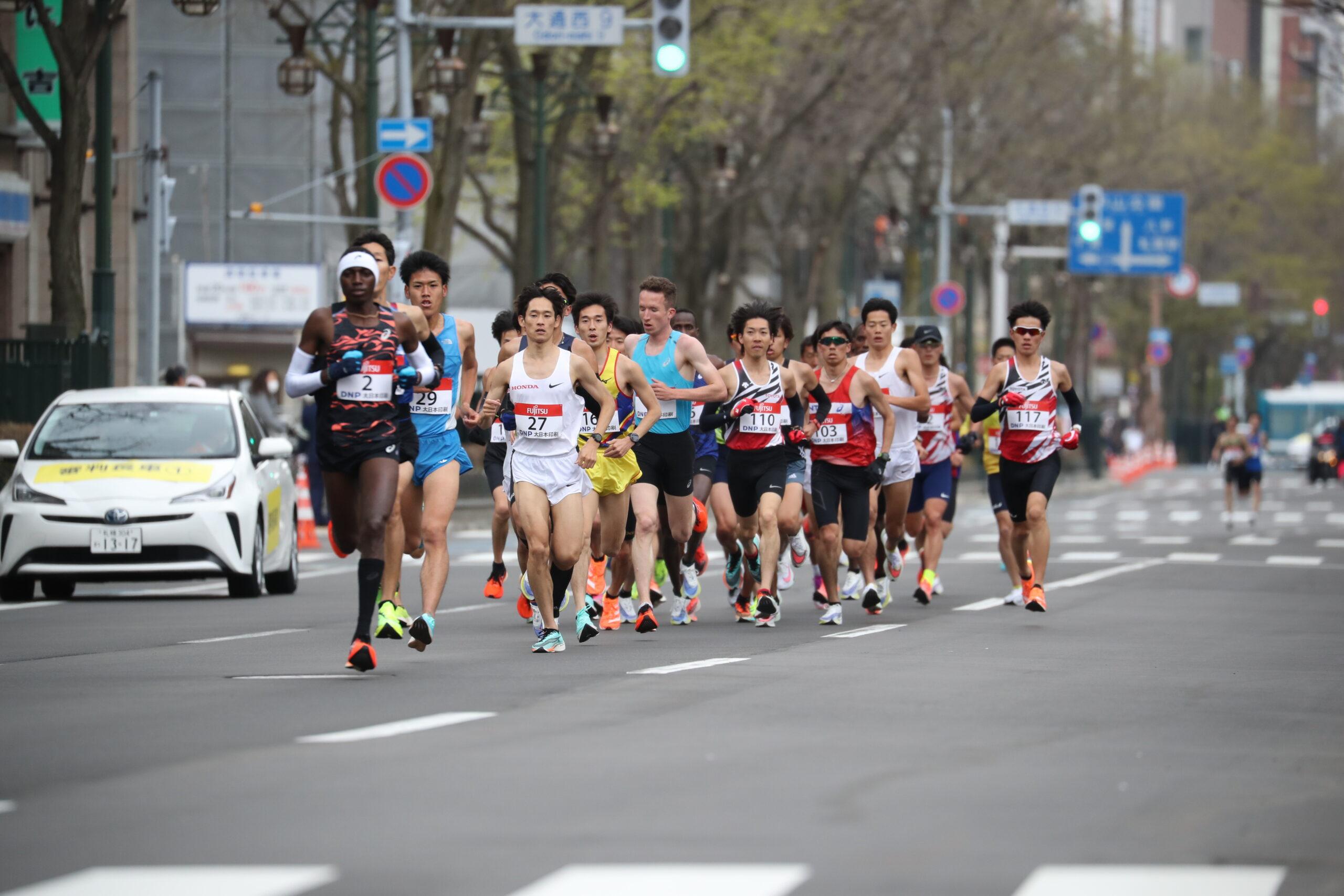 男子ハーフ木村慎が日本人トップ 服部勇馬も安定した走り披露/東京五輪マラソンイベント
