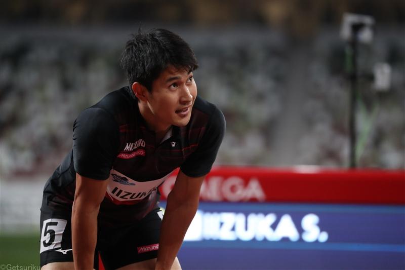 飯塚翔太20秒48でVも五輪参加標準記録20秒24に届かず/東京五輪テストイベント