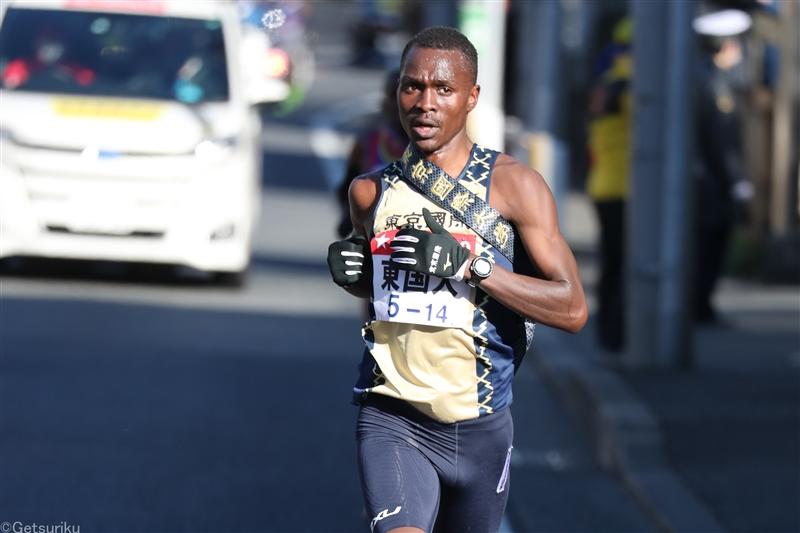 男子5000mでヴィンセントが14年ぶり学生新の13分15秒15!石原がU20日本歴代2位の13分30秒98/日体大長距離競技会