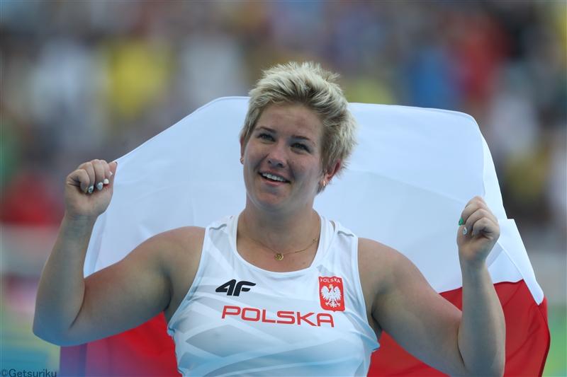 女子ハンマー投世界記録保持者のヴォダルチクが膝の手術から復帰、2年ぶりの競技会で73m87