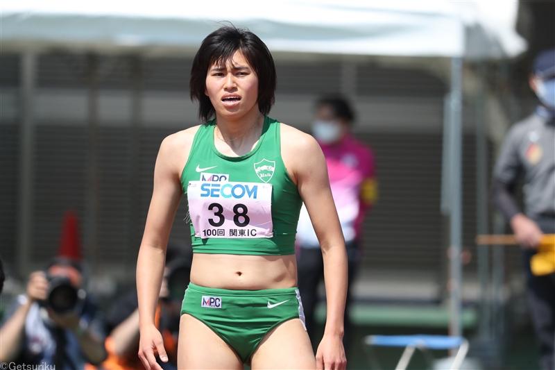 世界リレー代表・石川優が女子100m、200m2冠!「日本選手権で優勝して五輪に近づきたい」/関東IC