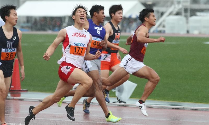城西大・鈴木涼太が10秒01!追い風参考ながら快走見せ大会連覇/関東IC