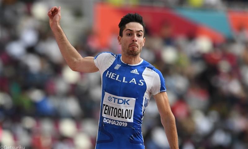 男子走幅跳ギリシャの23歳テントグルーが今季世界最高の8m60