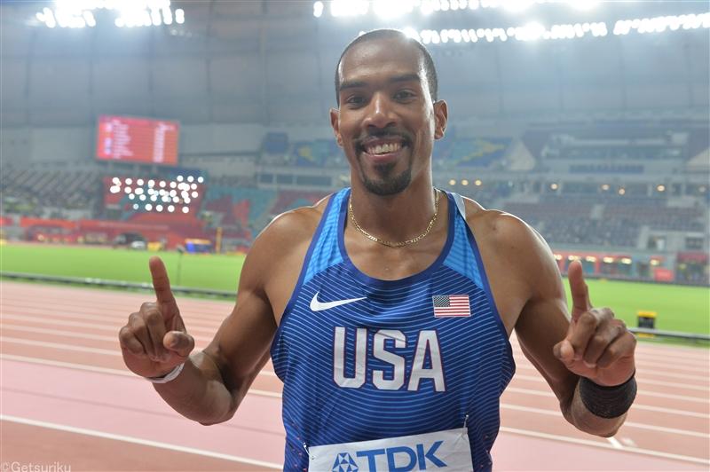 男子三段跳で五輪2連覇中のテイラーが右アキレス腱断裂で手術、東京五輪出場は絶望的
