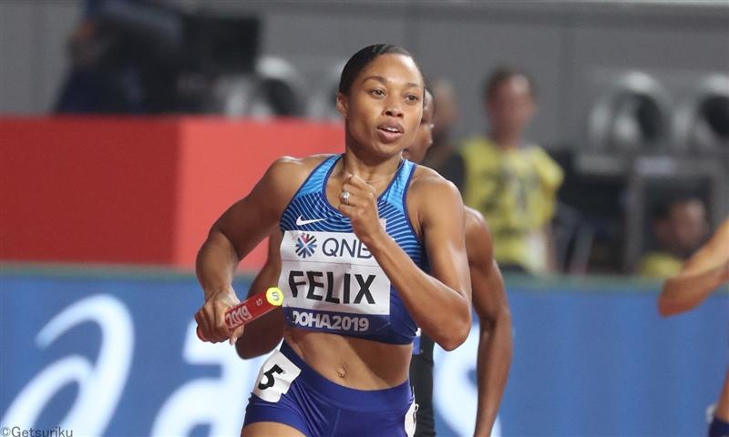 男子400mのチェリーが44秒37 女子400mフェリックスはシーズンベスト/USATFオープン