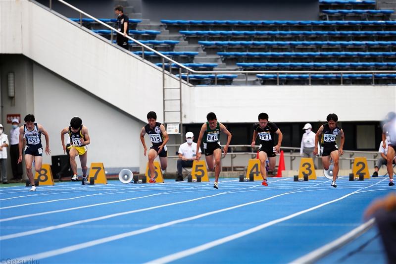 東京陸協がスプリント種目に特化した競技会「スプリント・チャレンジ」を開催