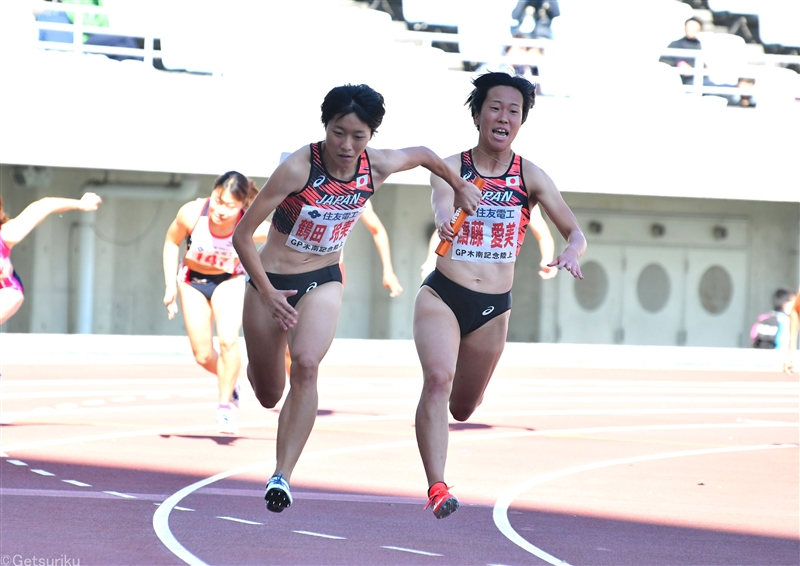 女子4×100m大健闘の世界4位!道を切り開き東京五輪&ユージン世界選手権へ/世界リレー