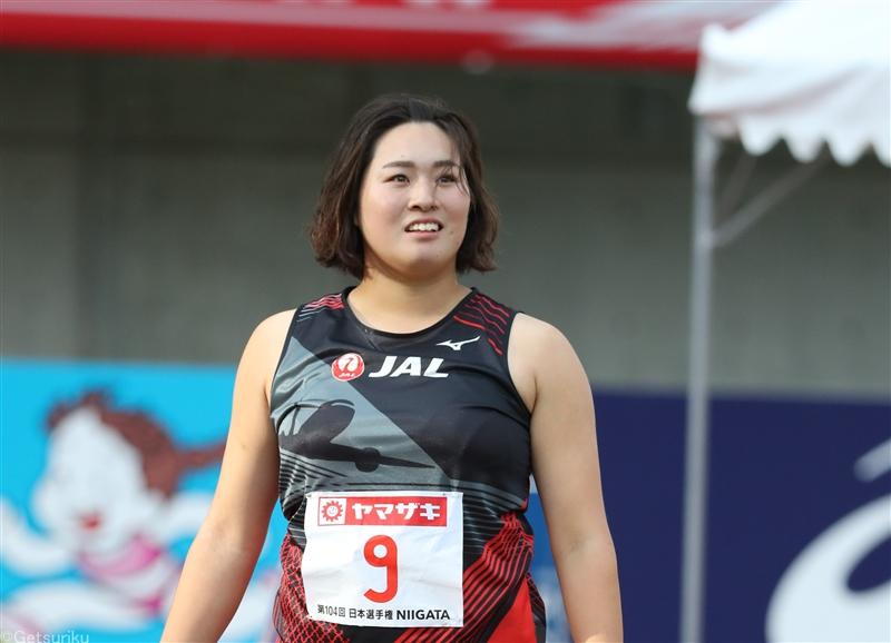やり投日本記録保持者・北口榛花がチェコでシーズンイン57m18で2位