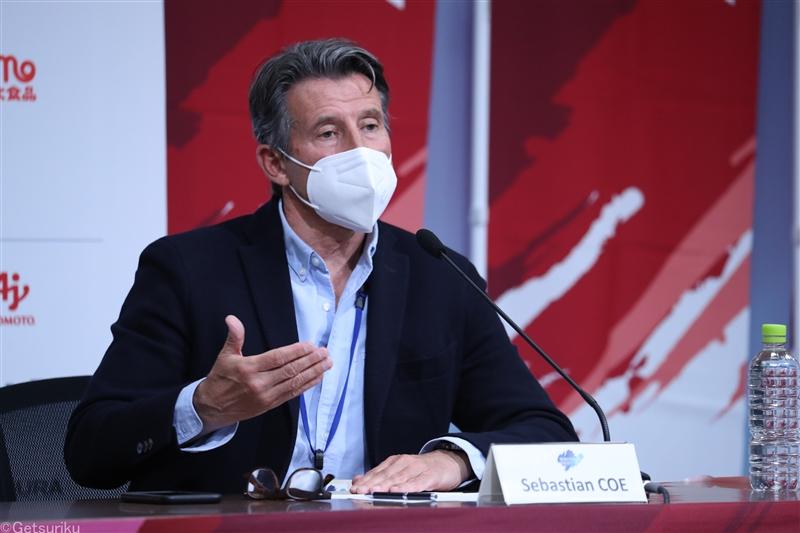世界陸連セバスチャン・コー会長が視察「安心していただきたい」五輪開催へ安全強調