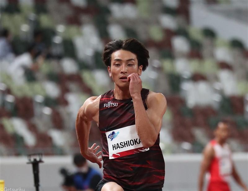 走幅跳・橋岡優輝ただ1人8mジャンプで社会人初Vファウル続出も「手応えある」/東京五輪テストイベント