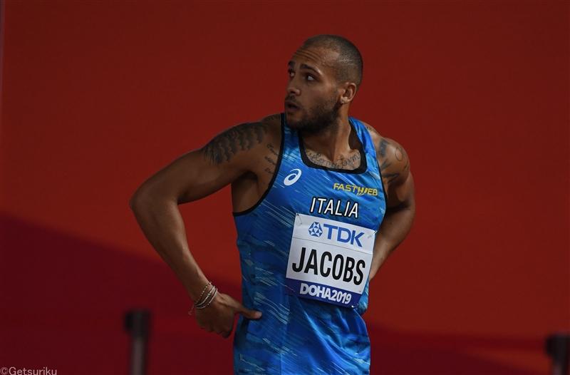 欧州室内男子60m王者・ジェイコブスが100mで9秒95のイタリア新、女子200mドーハ金のアッシャースミスが22秒56