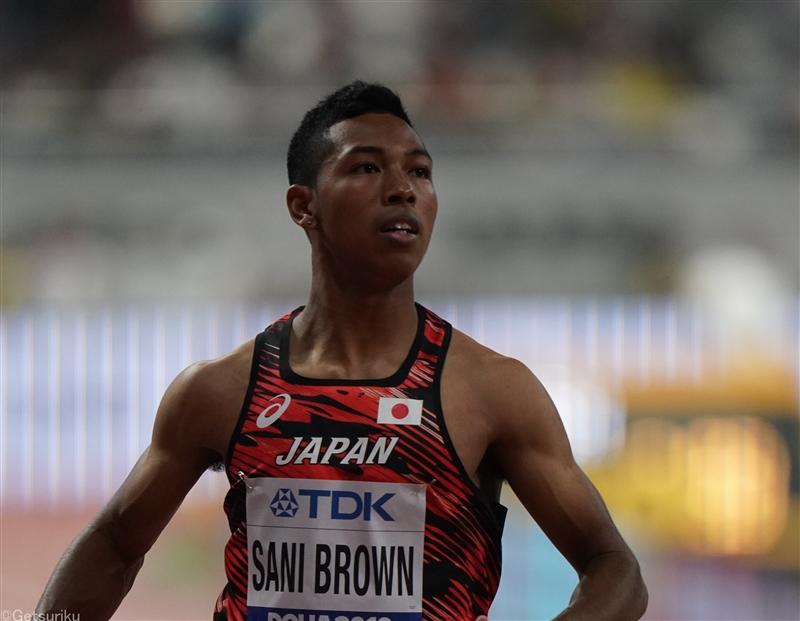 サニブラウンが東京五輪へ始動!米国で100mにエントリー 19年世界選手権以来の実戦か