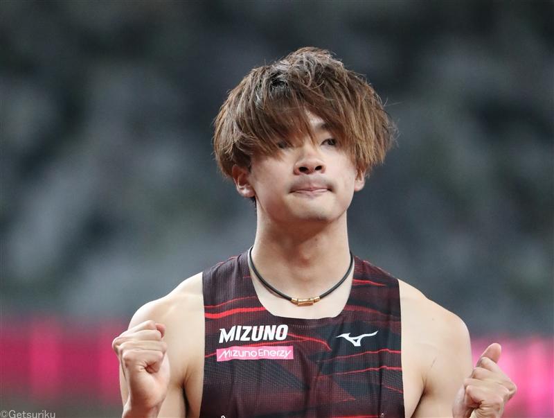 110mH日本記録保持者・金井大旺が13秒38でV!泉谷、高山ら抑える/東京五輪テストイベント