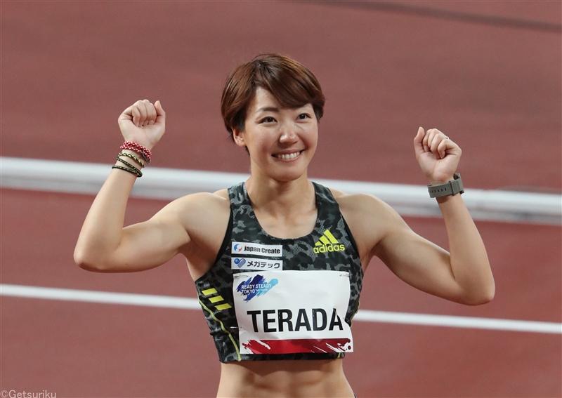 寺田明日香が100mH完勝!向かい風で12秒台で五輪標準記録に手応え/東京五輪テストイベント