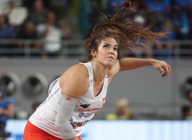 女子やり投で世界歴代3位の71m40!ポーランドのアンドレイチクが快投