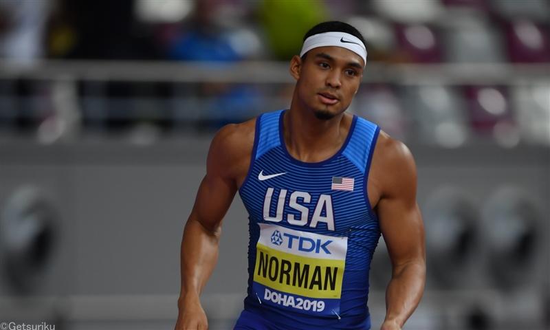 ノーマンが44秒27の今季世界最高 女子100mはフレイザー・プライスがV/DLドーハ
