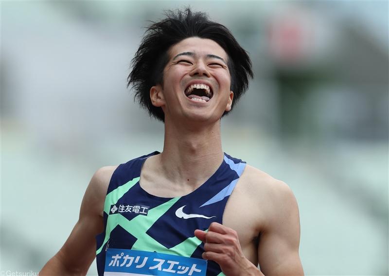 多田が男子100mをシーズンベストの10秒19で制す/関西実業団選手権