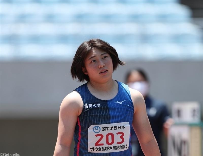 女子やり投・上田百寧が初大台!日本歴代7位の60m38でV/木南記念