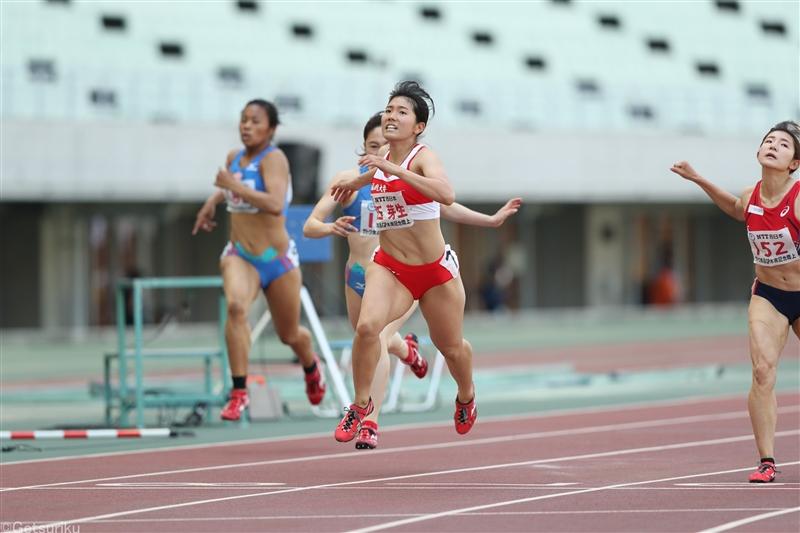 女子200mは兒玉芽生がサードベストの23秒72で競り勝つ/木南記念