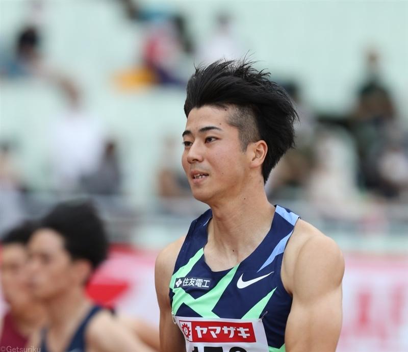 好調・多田修平が向かい風2.3mで10秒26!余裕を持って1着通過/日本選手権