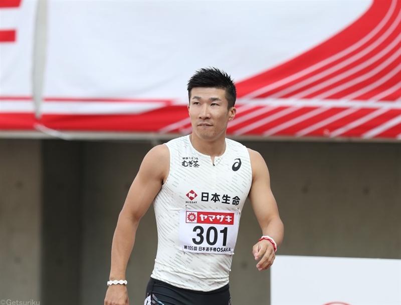 桐生祥秀は予選10秒12!好タイムもレース後は右アキレス腱を気にするそぶり/日本選手権