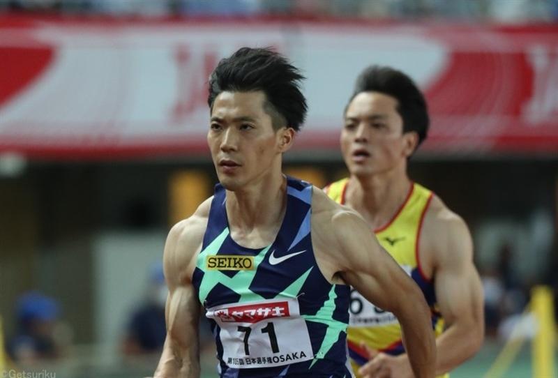男子100m山縣、多田、桐生が準決勝トップ!サニブラウン、小池も決勝へ ケンブリッジ敗退で代表入り逃す/日本選手権