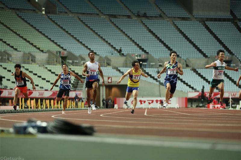 東京五輪100m代表ついに今夜決定!代表枠3!山縣、桐生、多田、サニブラウン、小池の参加標準記録突破5人による頂上決戦/日本選手権