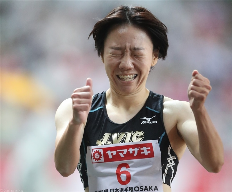 女子400mは小林茉由が初優勝!日本歴代4位の52秒86で3連覇懸かる青山聖佳を抑える/日本選手権