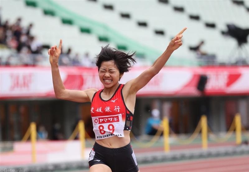 女子3000m障害のホープ!20歳の山中柚乃が日本歴代2位の9分41秒84で初V 東京五輪にも近づく/日本選手権