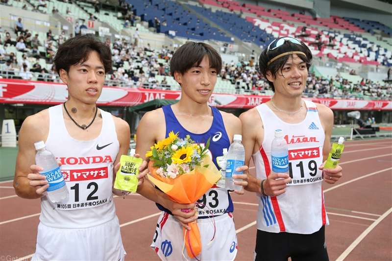 3000m障害・三浦龍司が圧巻の日本新Vで東京五輪切符!山口、青木も標準突破で五輪内定/日本選手権