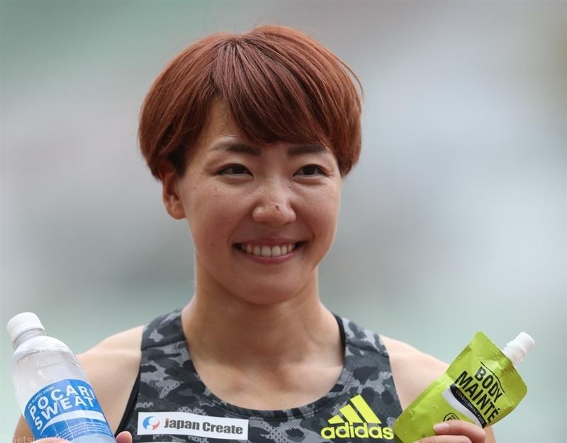100mH寺田明日香が11年ぶり制覇も参加標準記録届かず即時内定とはいかず「走りぼんやりしてしまった」/日本選手権