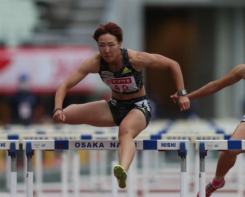 100mH寺田明日香が初五輪内定「子供の頃からずっと夢見ていた」目標は「3本走って決勝へ」