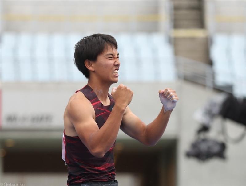 棒高跳は竹川倖生が5m70クリア!日本歴代5位タイもオリンピックに届かず「次は5m80を」/日本選手権